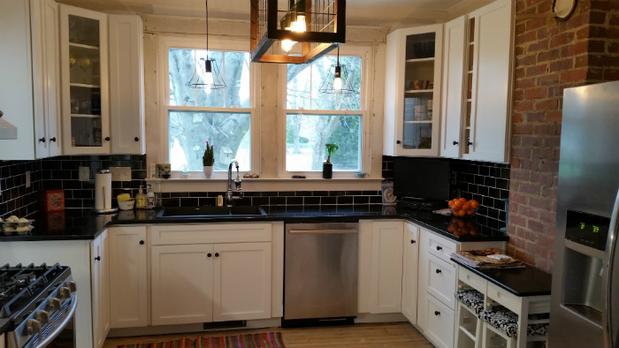 Historic farmhouse kitchen remodel raleigh examples for Old home kitchen remodel